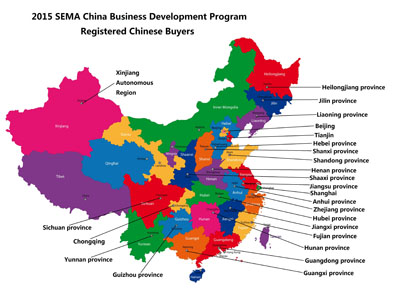Chinese Buyers by Province