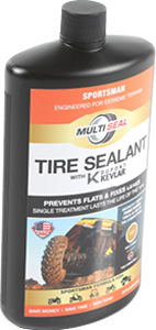 Tire Sealant With Kevlar Sportsman
