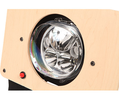 Oval 5.75-in. Vortex LED Headlight Kit For Harley-Davidson Road Glide
