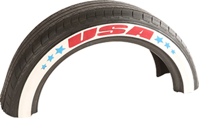 Whitewall Tire Stickers