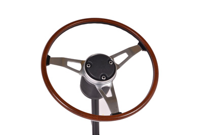 Wood Grain S83 Rim Blow Steering Wheel