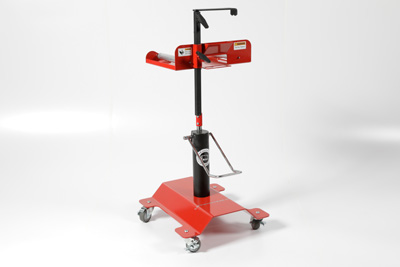 TRAC Tire Rotation Assistance Cart