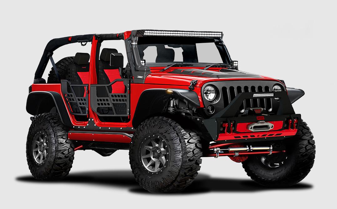 Build A Jeep >> Sema Members Support Santa Fe High School Jeep Build Sema