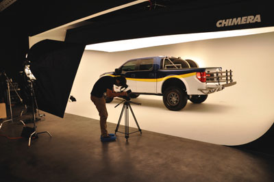 SEMA Garage Photo Studio