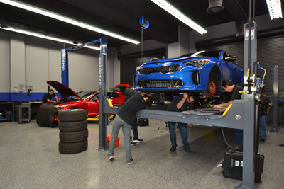SEMA Garage Measuring Session