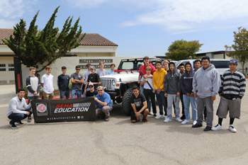 SEMA High School Vehicle Build Program