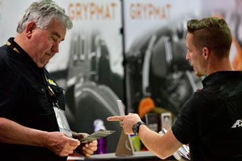 SEMA Show Exhibitor and Attendee
