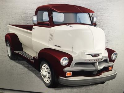 Troy Spackman, '54 Chevrolet 5700 COE
