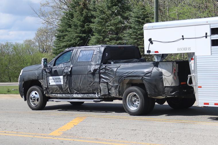 Spy Shots 2020 Chevrolet Silverado Hd