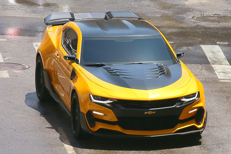 "Spy Shots—""Transformers'"" Bumblebee Camaro and Barricade ..."