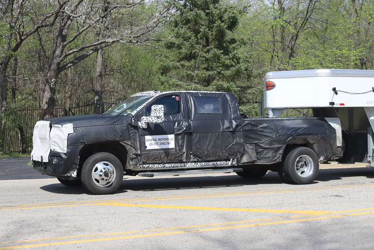 Spy Shots—2020 Chevrolet Silverado HD
