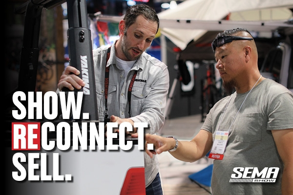 SEMA Show 2021 Reconnect