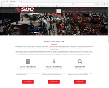 SDC Website Interface