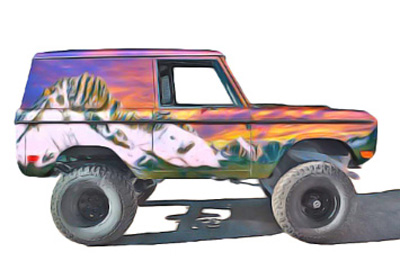 Bryan Barger, Ford Bronco