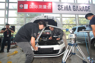 SEMA Garage International Measuring Session