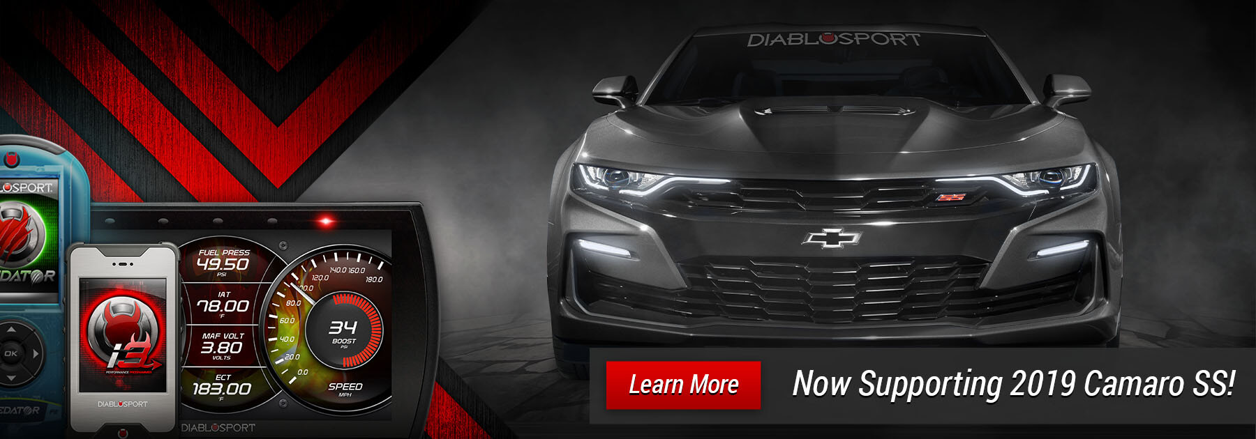 DiabloSport Performance Tuning Support for 2019 Camaro SS