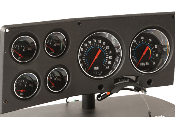 '73–'87 Chevy Truck Direct-Fit Instrument Cluster