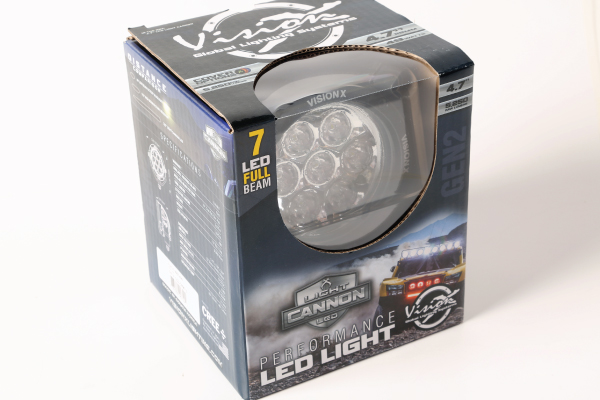 4.7-in. CG2 7-LED Light Cannon