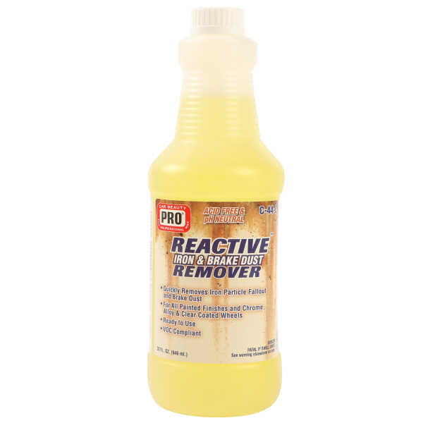 Reactive Iron and Brake-Dust Remover