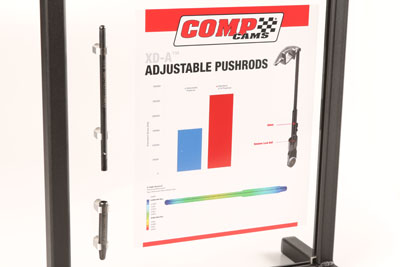 COMP Cams XD-A Adjustable Pushrods for GM LS Engines