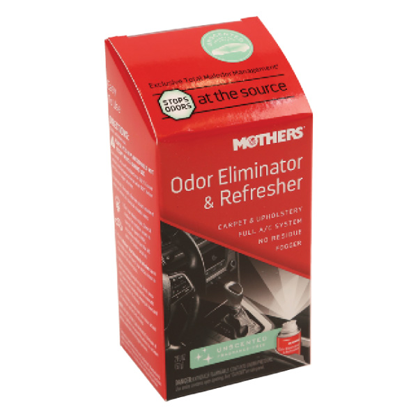 Mothers Odor Eliminator & Refresher, New Car Scent