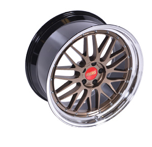 "BBS LM ""Bronze"" Two-Piece Die-Forged Wheel"