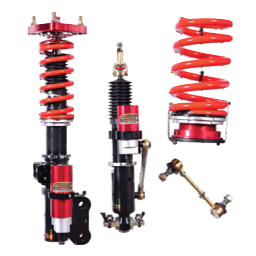 Remote-Canister Adjustable Coil-Overs for S550 Mustangs