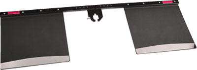 Hitch-Mount Mud Flaps