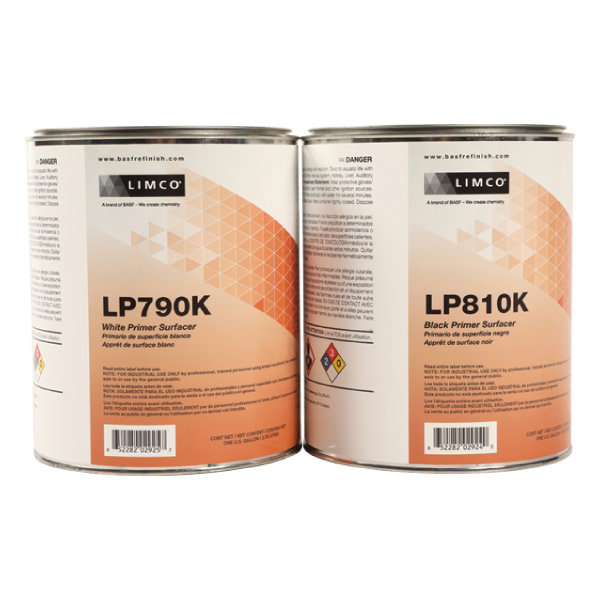 Limco LP790K White and LP810K Black Primer Surfacer