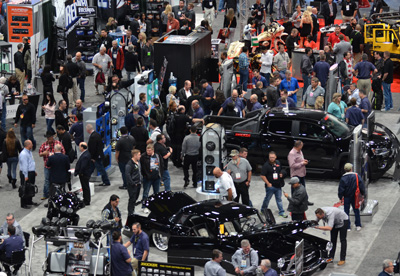 SEMA Show North Hall
