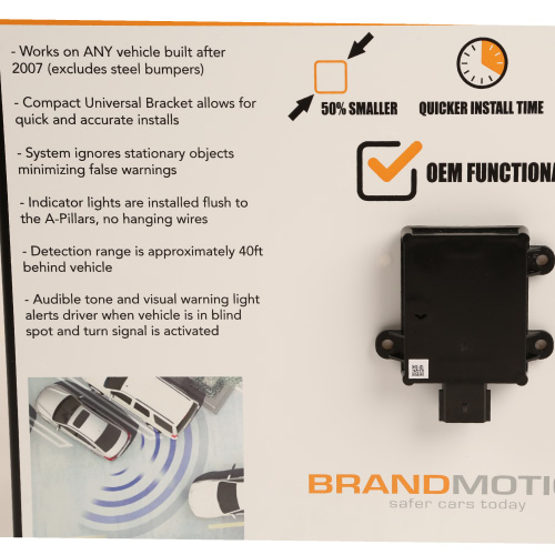 Brandmotion Radar Blind-Spot System With Cross-Traffic Detection