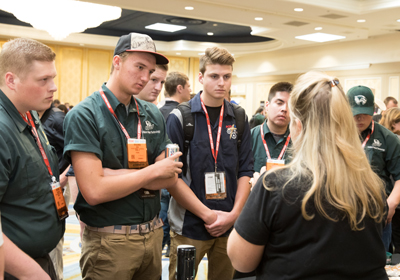 SEMA Show Student Career Day